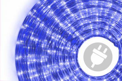 Světelný kabel 20 m - modrá, 720 minižárovek