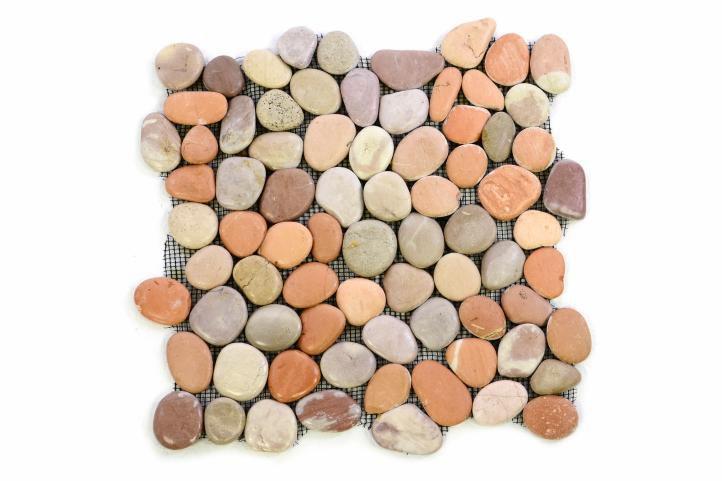 Divero 1099 Mozaika říční oblázky - 1 m2