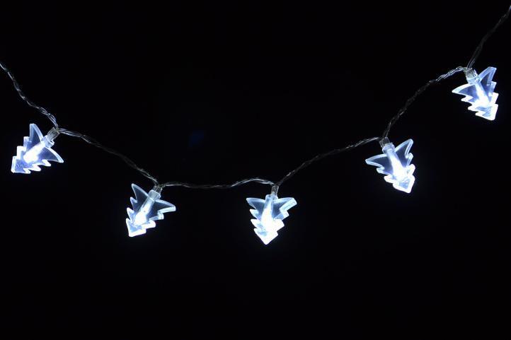Nexos 1368 Vánoční osvětlení - vánoční stromky - studeně bílé