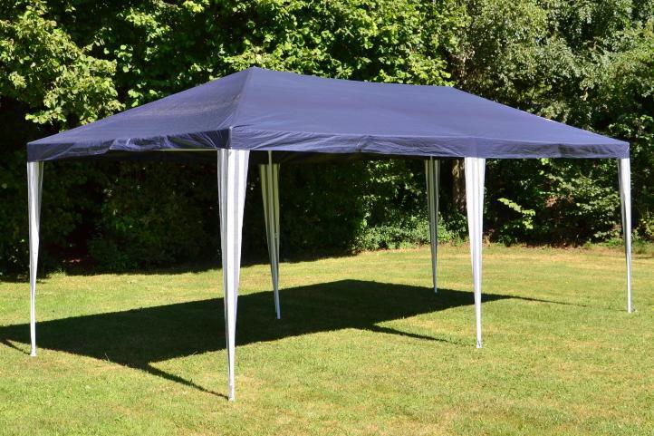 Zahradní párty stan 3 x 6 m, modrý