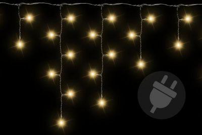 Vánoční světelný déšť - 2,7 m, 72 LED, teple bílý