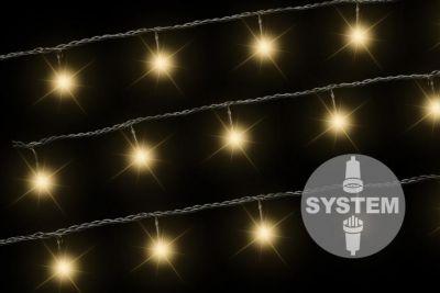 diLED světelný řetěz - 40 LED, teple bílý