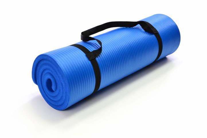 Garthen 2266 Gymnastická podložka 190 x 60 x 1,5 cm - modrá