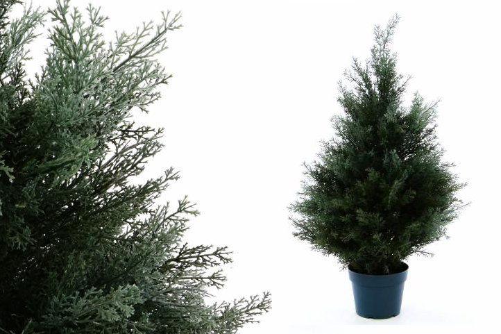 Garthen 2492 Umělý stromek - cypřiš, 70 cm