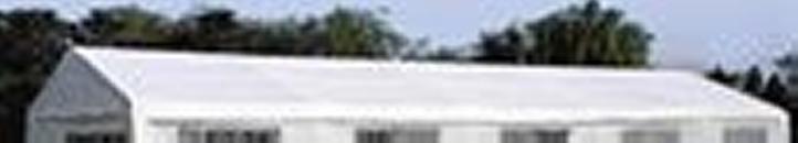 Levně Garthen Náhradní střecha k party stanu 5 x 10 m, bílá