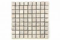 Mramorová mozaika Garth - krémová obklady - 1x síťka