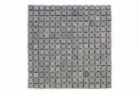 Mramorová mozaika Garth - šedá obklady - 1x síťka