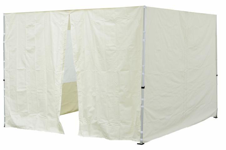 Garthen 30696 Sada 2 bočních stěn pro PROFI zahradní stan 3 x3 m krémová