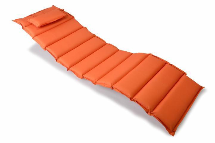 Divero 321 Polstrování na lehátko - oranžová