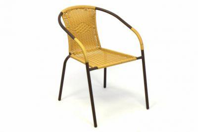 Zahradní bistro židle  - stohovatelná, béžová