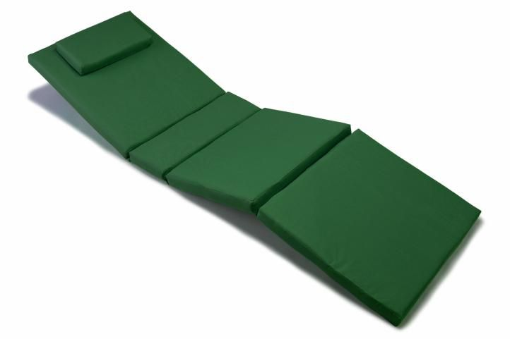 Polstrování na lehátko - tmavě zelená