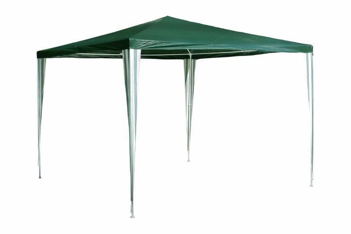 Garthen 385 Zahradní párty stan - zelený 3 x 3 m