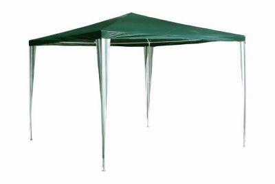 Zahradní párty stan - zelený 3 x 3 m