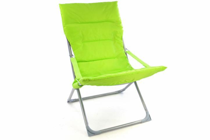 Garthen 40729 Skládací kempinková židle - zářivě zelená