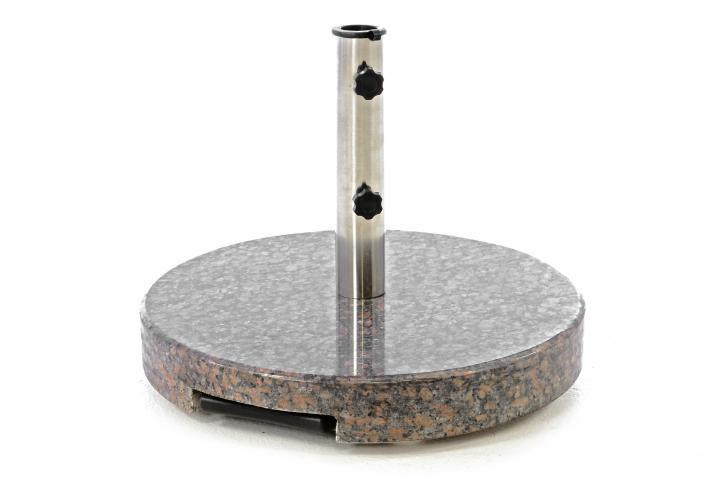Stojan na slunečník kruhový žula - 35 kg