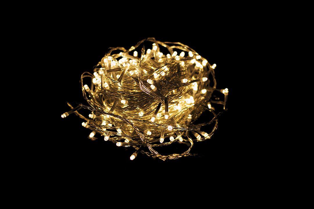 Vánoční LED osvětlení 19,9 m - teple bílé 200 LED s časovačem