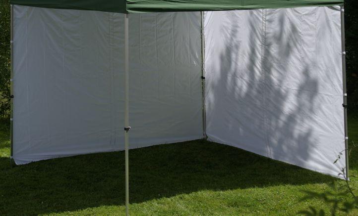 Garthen 432 Sada 2 bočních stěn pro PROFI zahradní altán 3 x 3 m - bílá