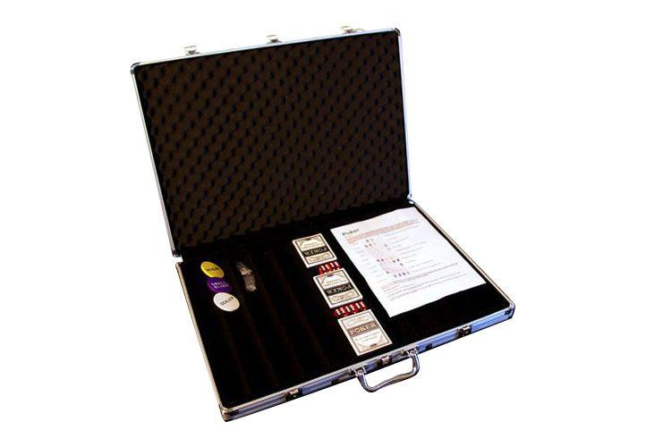 Garthen 491 Hliníkový kufr na 1000ks žetonů s příslušenstvím