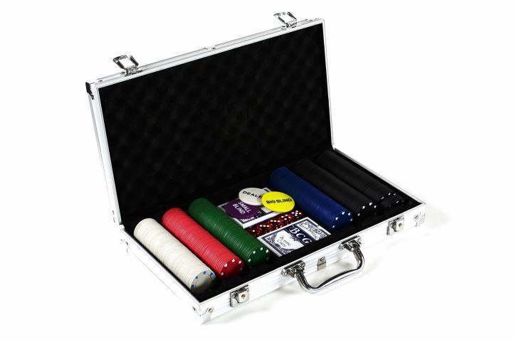 Garten 498 Poker set 300 ks žetonů s příslušenstvím