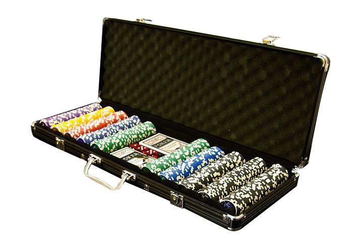 Garthen 499 Poker set 500 ks 5-1000 Ocean Black Edition