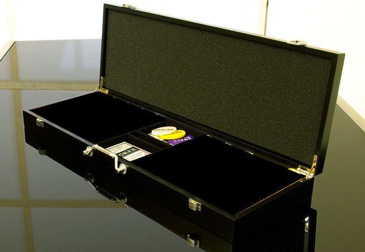 Garthen 502 Dřevěný kufr na 500 ks žetonů s příslušenstvím