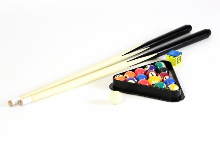 Mini kulečník pool s LED osvětlením