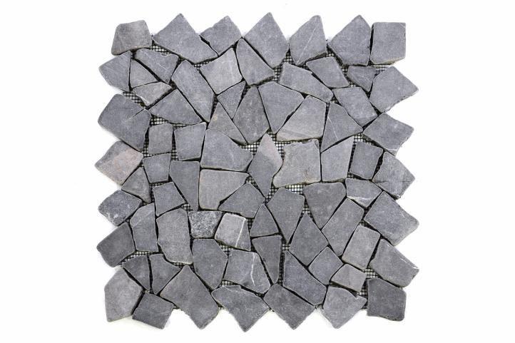 Divero 563 Mramorová mozaika šedá 1 m2