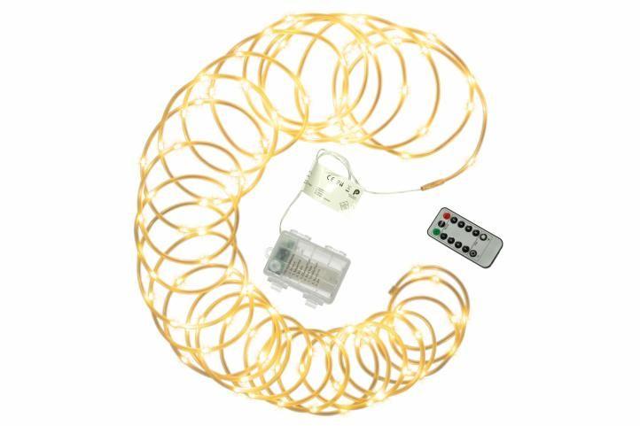 Nexos 57381 Vánoční LED osvětlení - MINI kabel - 10 m teple bílé
