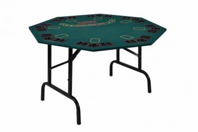 Skládací pokerový stůl pro 8 osob s držáky na nápoje