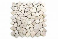 Mramorová mozaika Garth -krémová obklady 1 m2