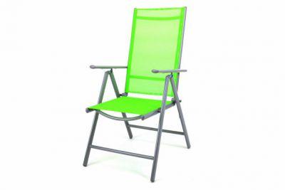 Zahradní skládací židle GARTHEN - zelená