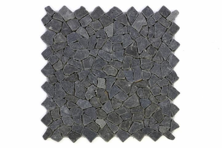 Divero Garth 616 Mozaika z andezitu - černá / tmavě šedá 1 m2