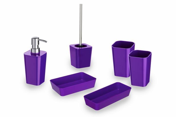 WENKO Candy purple Koupelnová sada