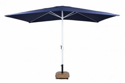 Slunečník obdélníkový 2x3 m - modrý
