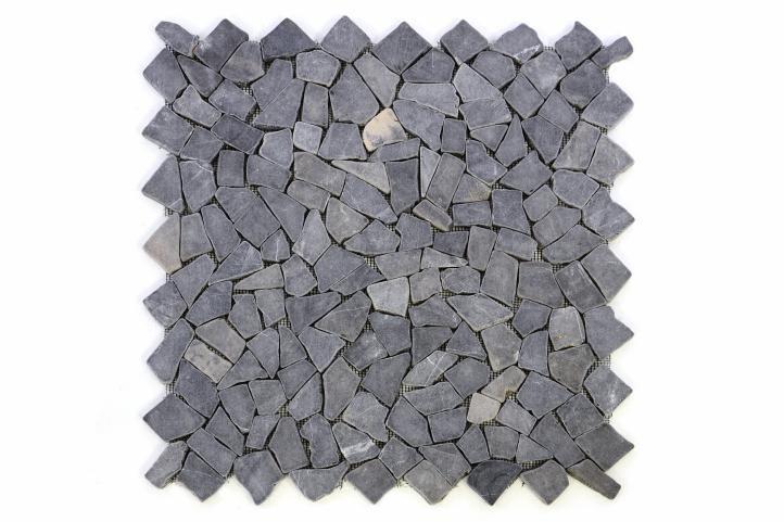 Divero 678 Mramorová mozaika šedá obklady 1 m²