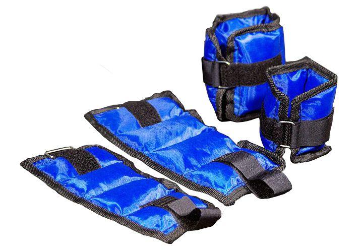 Garthen 687 Závaží na nohy a ruce (kotníky a zápěstí) modrá