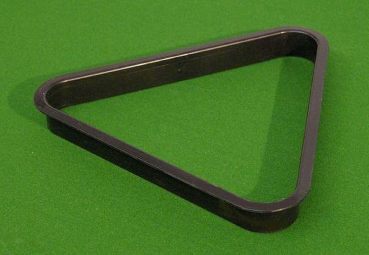 Garthen 69 Trojúhelník plastový černý 57,2 mm