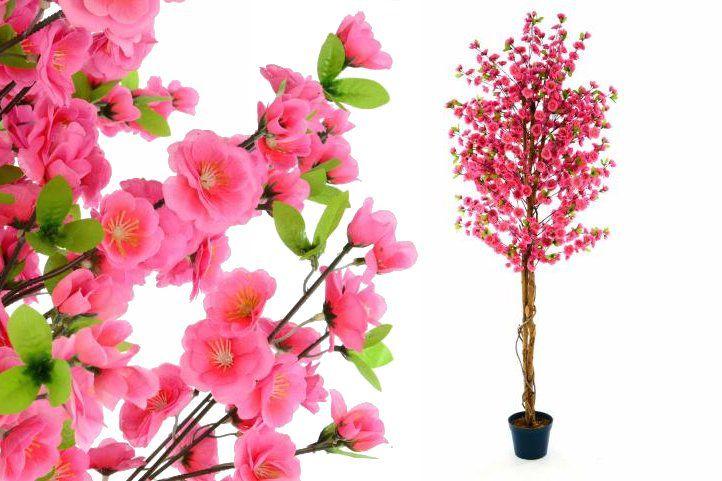 Umělá rostlina strom - třešeň 190 cm