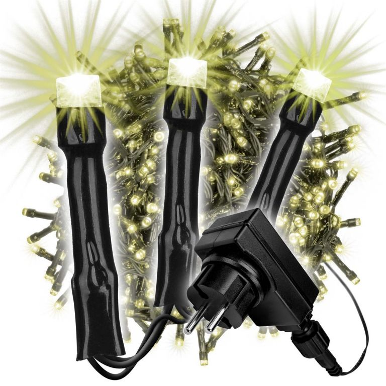 Světelný řetěz - 700 LED, teplá bílá
