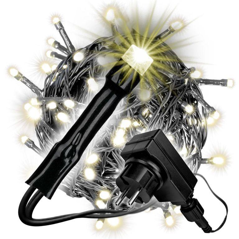 Světelný řetěz - 240 LED, teplá bílá