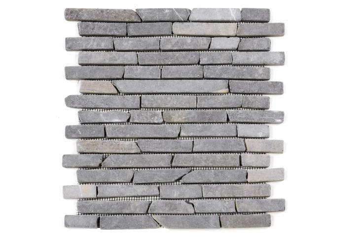 Divero 793 Mramorová mozaika - šedá 1 m2