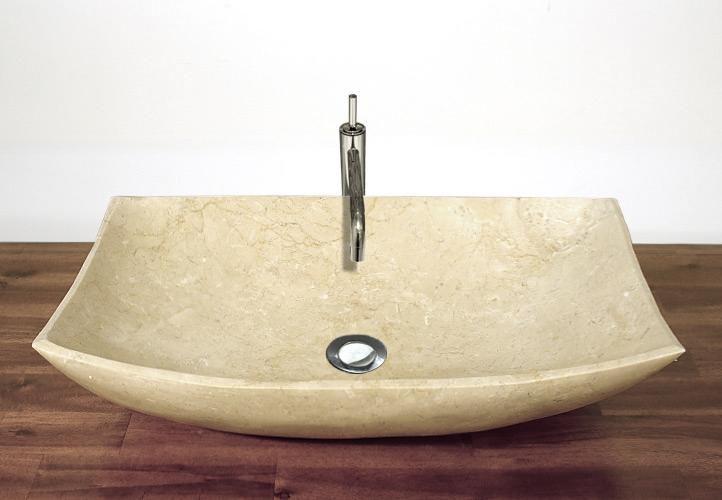 Kamenné umyvadlo - leštěný mramor