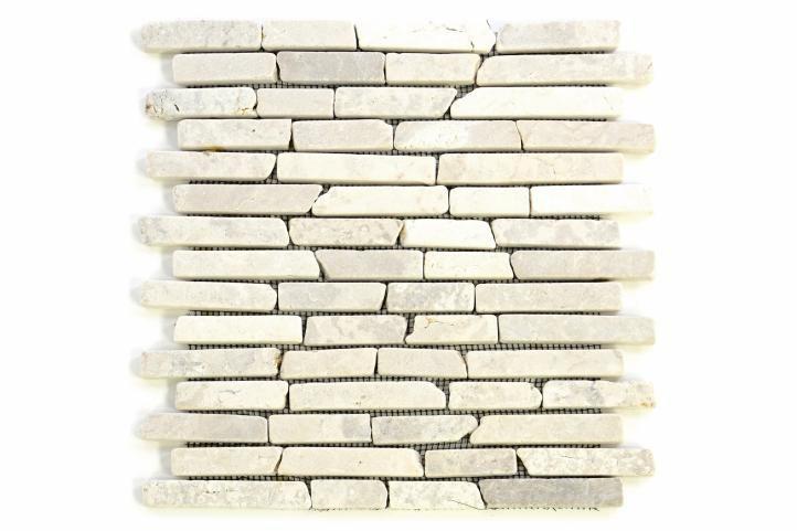 Divero 797 Mramorová mozaika - krémová 1 m2