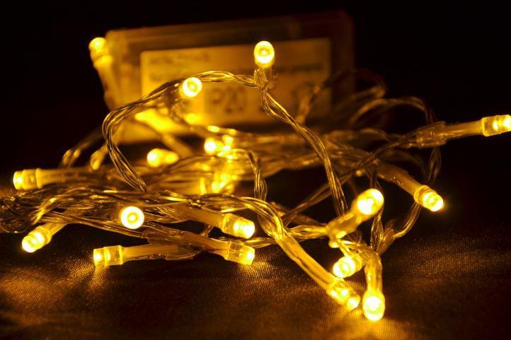 Vánoční LED osvětlení Garth 3 m - teple bílé, 20 diod