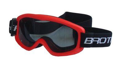 Lyžařské brýle DĚTSKÉ - červené