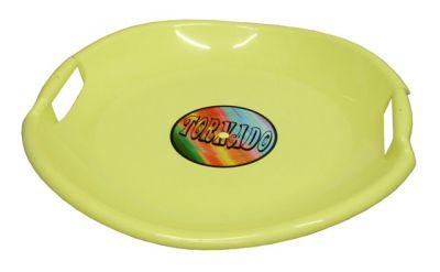 Tornádo talíř sáňkovací - žlutý