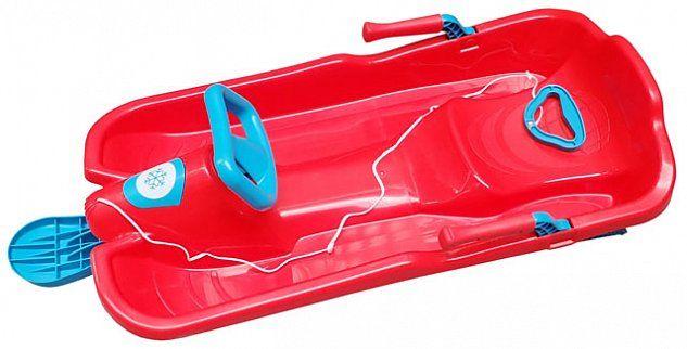 CorbySport A2035/1 Skibob s volantem - červený