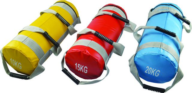 Posilovací vak (bag, pytel)15 kg se čtyřmi úchopy