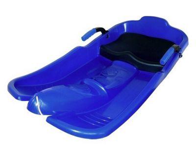 Plastový bob Superjet - modrý