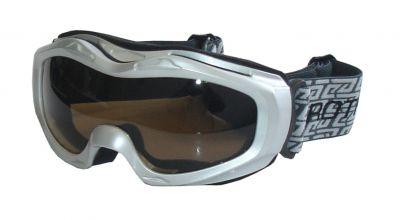 Lyžařské brýle BROTHER - stříbrné